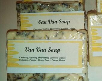 Van Van Soap, Voodoo, Hoodoo,  Spiritual, Bath, Conjure, Pagan, Wiccan