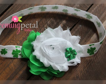 SALE: Shamrock St Patrick's Day Infant/Toddler Headband