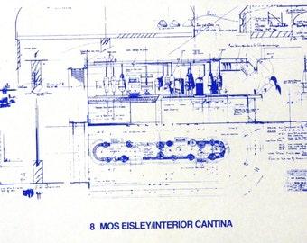 Star Wars Cantina Interior Blueprint