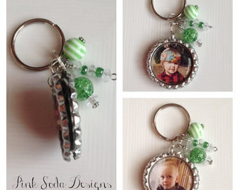 Doubled Sided Personalized Picture Key Chain