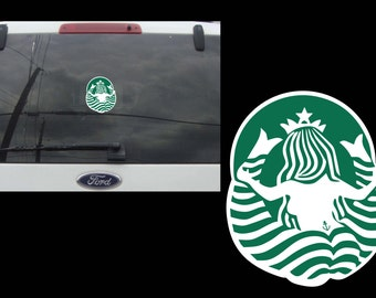 Back of Coffee Logo Decal