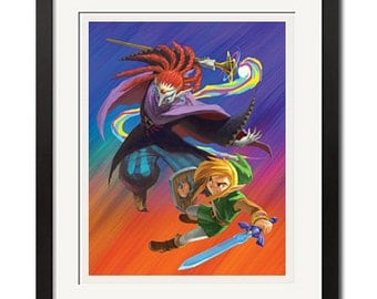 The Legend of Zelda Link Poster Print
