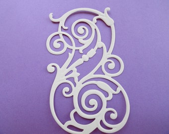 "Anna Griffin Flourish Scroll Die Cut Set of 6 ""Available in 17 colors. Mix and Match too"
