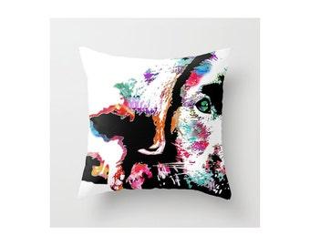 Labrador Pillow Case || Labrador Retriever || Riley the Lab || Dog Art || Pillow Case