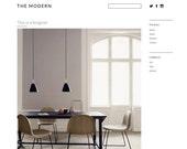 Blogger template 'The Modern'