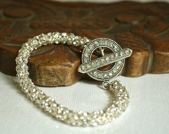 Wedding Bridal Jewelry, Bridal Rhinestone Bracelet, Brides Bridesmaids, Wedding Rhinestone Bracelet, Rhinestone Bracelet,