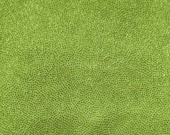 Swimwear Fabric Lime/Lime Fog Foil Tricot Knit Fabric for Swimwear Activewear Dancer apparel and Sportswear - 1 Yard Style 7002