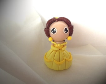Polymer Clay Princess Belle