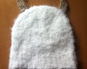 Snow Monster Hat MADE TO ORDER