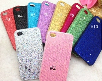 Glitter Bling Cell Phone case for Iphone 4 4s case Your DIY Projects