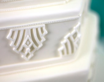 Fondant Mold for The Spectacular Art Deco Design