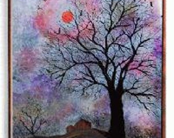 Autumn Twilight Wall Fountain