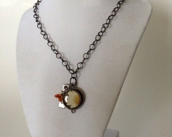 Fairy Flower Charm Necklace