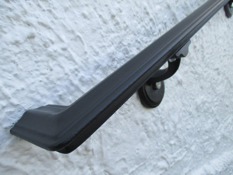 Wrought Iron Handrails 4 Ft Wrought Iron Handrail Step Rail Stair Rail With