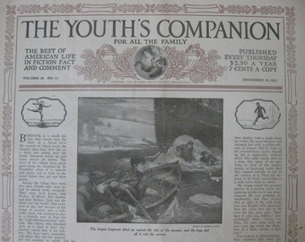 December 28 1922 The Youths Companion for All the Family - By Perry Mason Co., Boston, MA