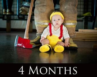 Baby Firefighter Set