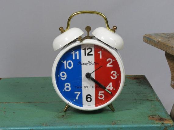 Phinney Walker Twin Bell Alarm Clock West By