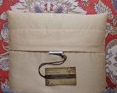 20X26 Twin/Standard Size Buckwheat Hull Pillow 8 lbs of Orgainc Buckwheat Hulls and 100% Cotton Sateen