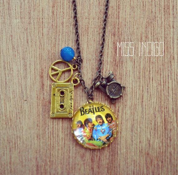 Beatles Charm Bracelet: Beatles Charm Necklace