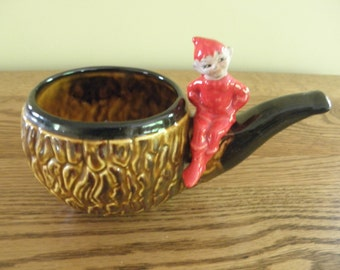 Elf on a Pipe Planter