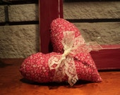 Small Valentine heart pillow