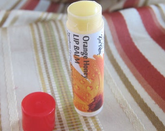 Argan Lip Balm with Essential Oils, Beeswax and Extra Virgin Coconut Oil.