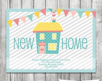 Moving Announcement - New Address Card - 5x7 JPG