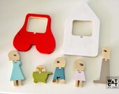 HU-FAMILY - wooden set toy
