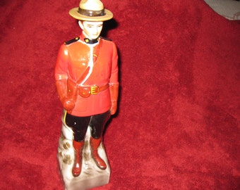 CANADIAN MOUNTIE DECANTER-1969