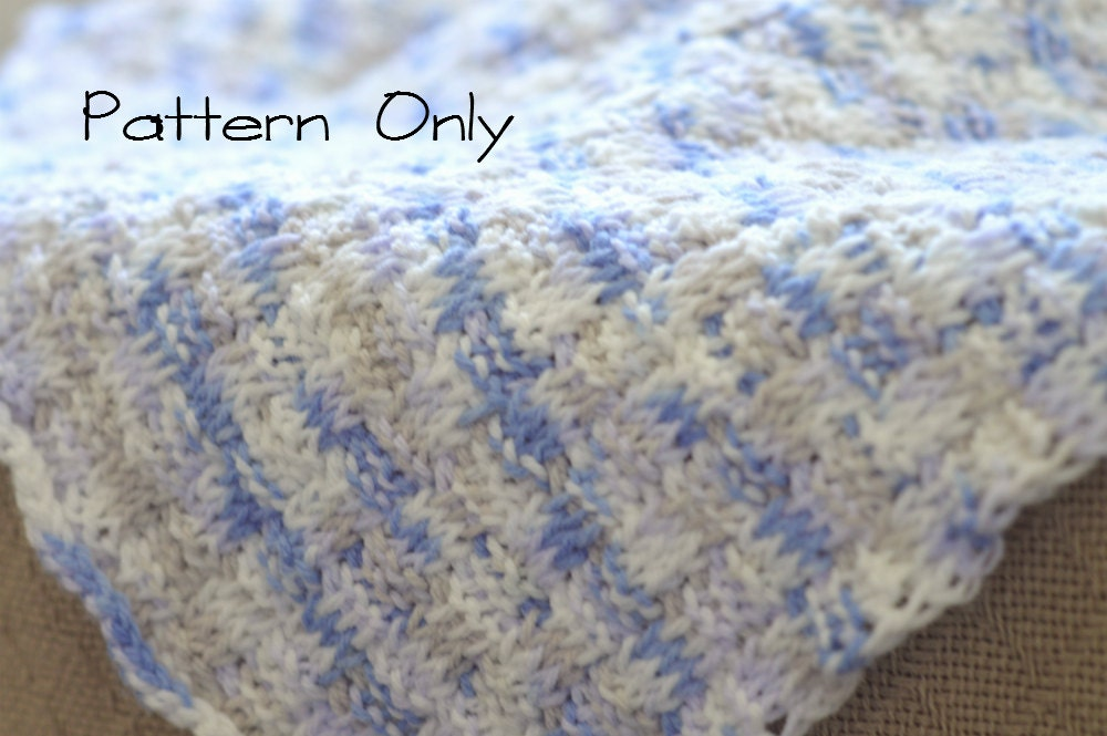 Baby Afghan Patterns To Crochet : Baby Blanket Crochet Pattern Baby Afghan Pattern Tunisian
