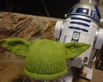 Yoda Hat, Knit