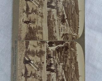 Stereoscope Underwood & Underwood Jeruselum, Palestine, 1903, stereoscopic card, vintage photography