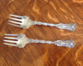 Sterling Silver Gorham-Whiting Imperial Queen Ramekin Forks