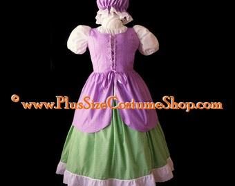 Halloween Costume Little Miss Muffet Adult Womens Size 1X 2X 3X 4X 5X