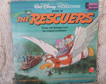 Disney S Story Of The Rescuers Vinyl Record
