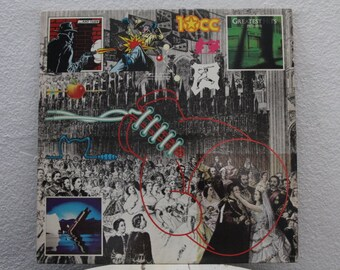 "10cc - ""Greatest Hits 1972-1978"" vinyl record"