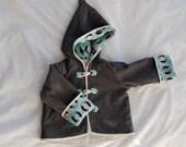 toggle hoodie