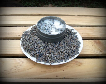50 4oz Lavender Soy Candle Tins