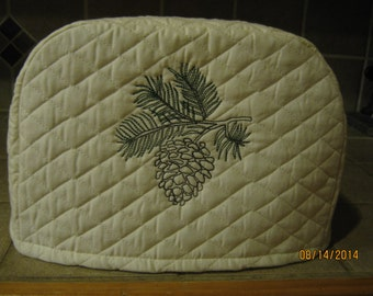 2 or 4 slice Pinecone toaster cover