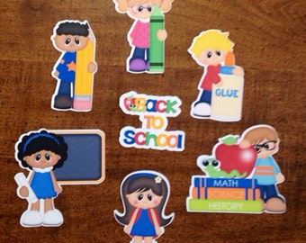 SALE: Back To School Die Cuts set of 7 -WAS 10.00
