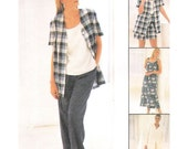 Uncut Sewing Pattern Misses Dress or Top, Jacket, Pull-on Pants or Shorts Easy McCall's 8178 Size 20 22 24 Non Stop Wardrobe