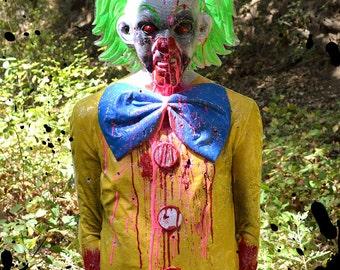 "Bleeding Clown Zombie Life-Sized Tactical Mannequin Target ""Bleeds"" When Shot!!!"