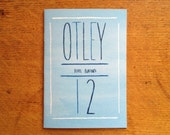 Mini Zine/Comic - Beryl Burton's Otley 12