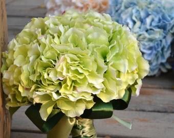 wedding artificial bouquet hydrange more color
