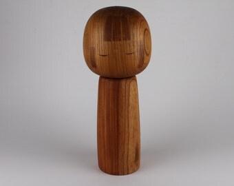 HUGE wooden Doll Kokeshi Figurine from Japan 30 cm