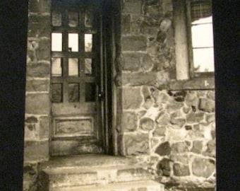 Vintage Photograph of Doorway