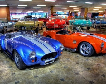 1965 and 1967 Shelby Cobra AC