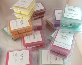 8 Six Packs Wax Melts - Choose from 200+ scents -100% American Soy- Maximum Scented