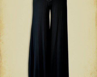 Palazzo Pant Medieval clothing  - Steam punk Pant for LARP, victorian costume and cosplay