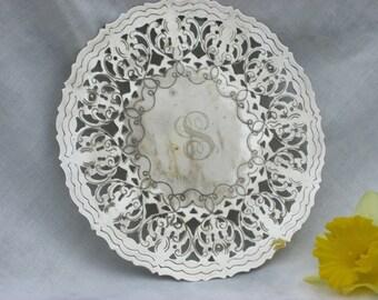 Trivet - Silver Plate - Vintage